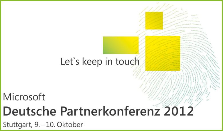 Microsoft Partner Konferenz 2012