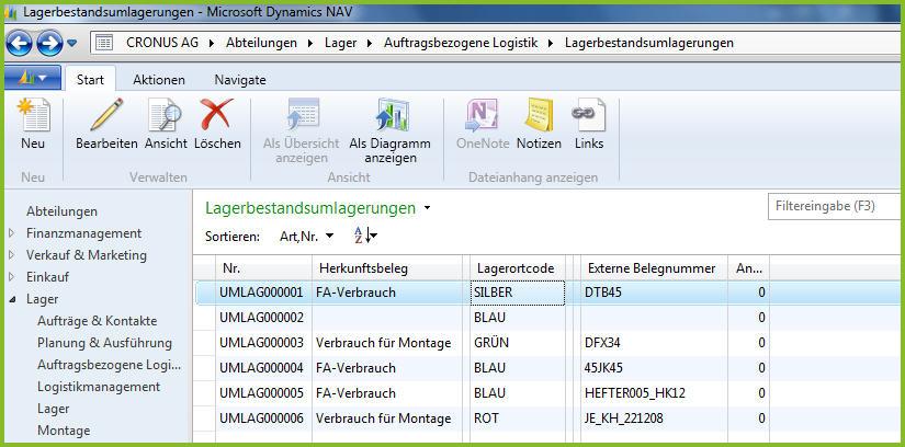 Dynamics Nav 2013 Warehouse Management Erweitert Erp Blog