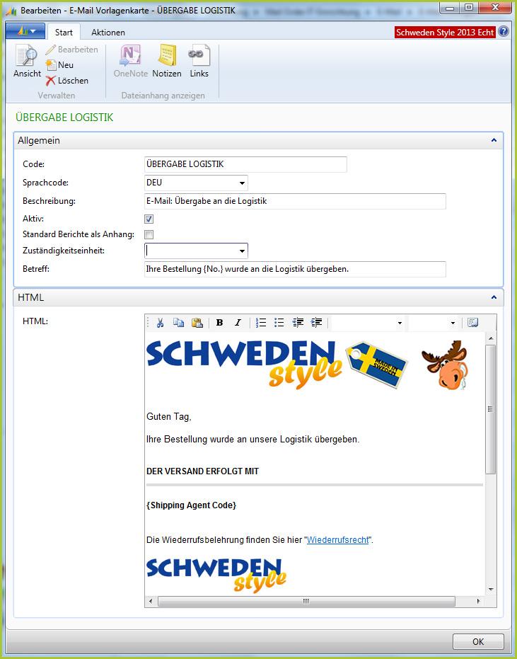 Automatisierter Kundenkontakt mit Mail-Order-IT