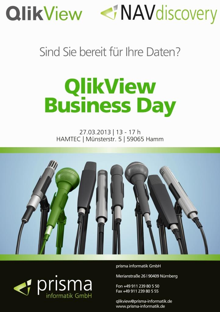 Flyer QlikView Business Day