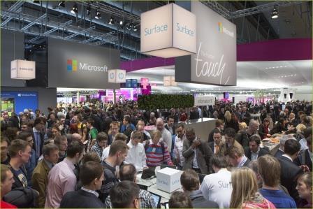 Microsoft Stand CeBIT 2013