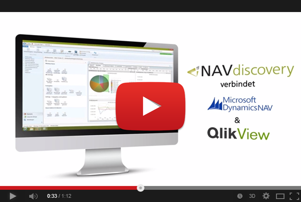 QlikView Connector Dynamics NAV