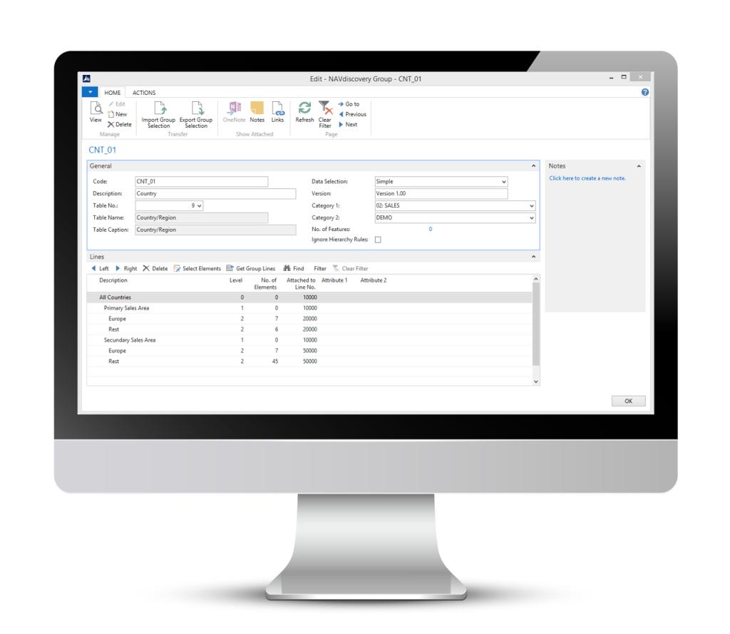 Dynamics NAV QlikView Qlik Sense Script Template Kontenschema  chart of accounts Datenmodell Script Template