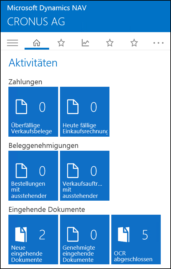 Microsoft Dynamics NAV 2016 Web Client Und Universal App
