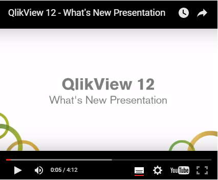 Whats New in QlikView 12