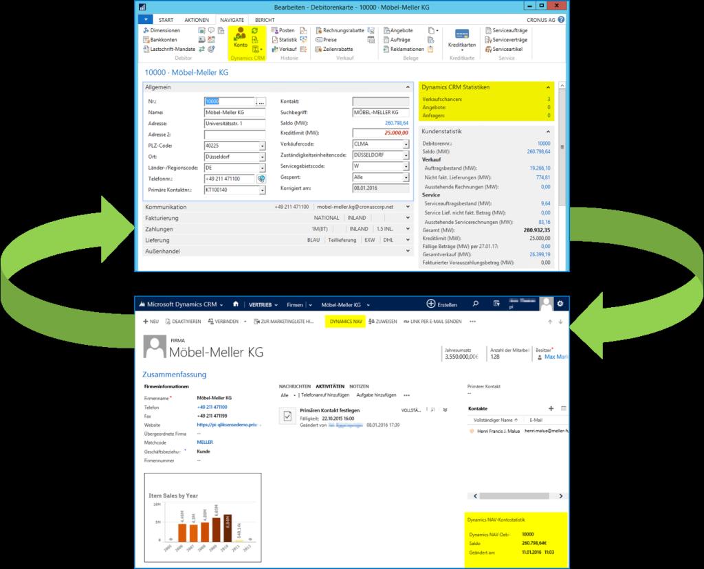 Microsoft Dynamics NAV 2016 Integration CRM