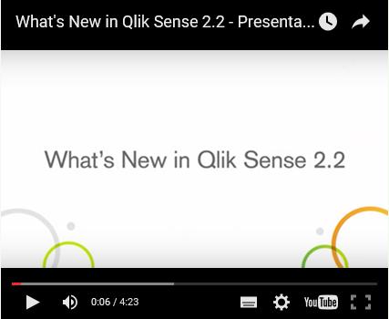 Qlik Sense 2.2 Video