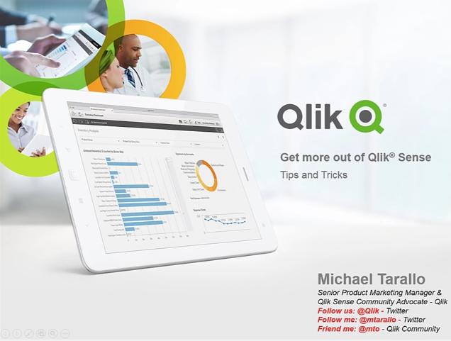 Qlik Sense Tipps und Tricks