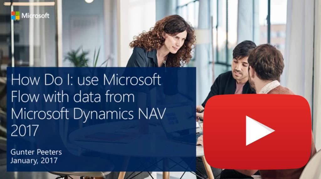 Microsoft Flow mit Dynamics NAV 2017