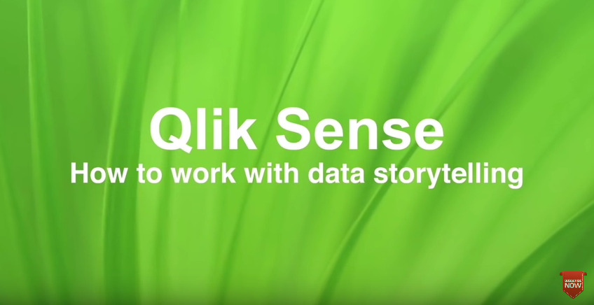Video Qlik Sense Data Storytelling