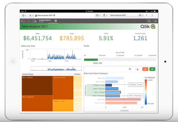 Qlik Sense September 2017 - Mobile App