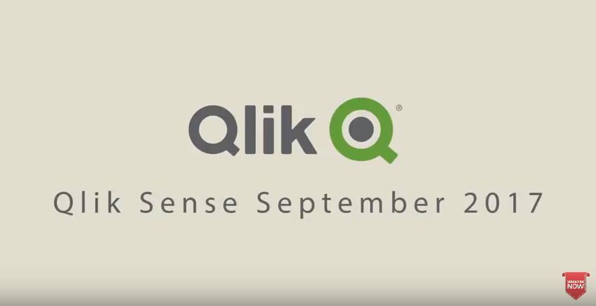 Qlik Sense September 2017 - What's New Video