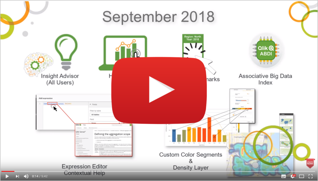 Qlik Sense September 2018 - What's New