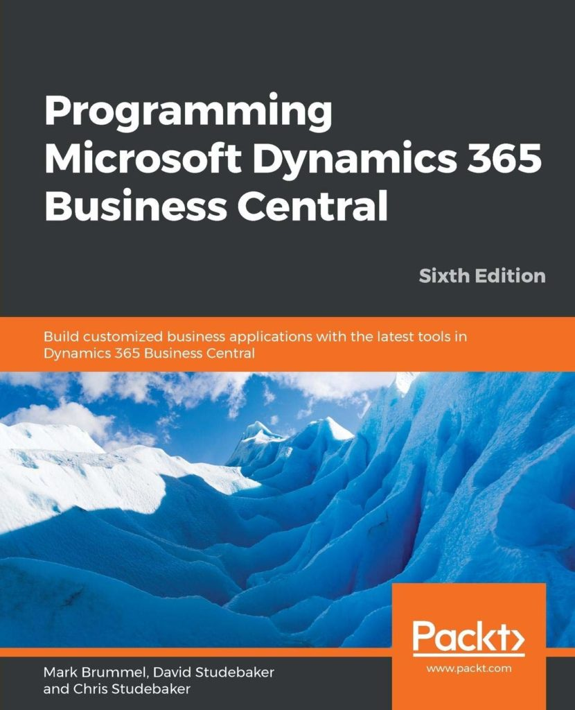 Programming Microsoft Dynamics 365 Business Central