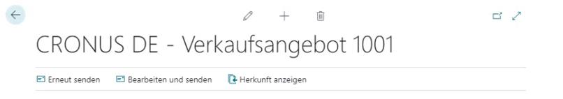 E-Mail-Herkunft Business Central