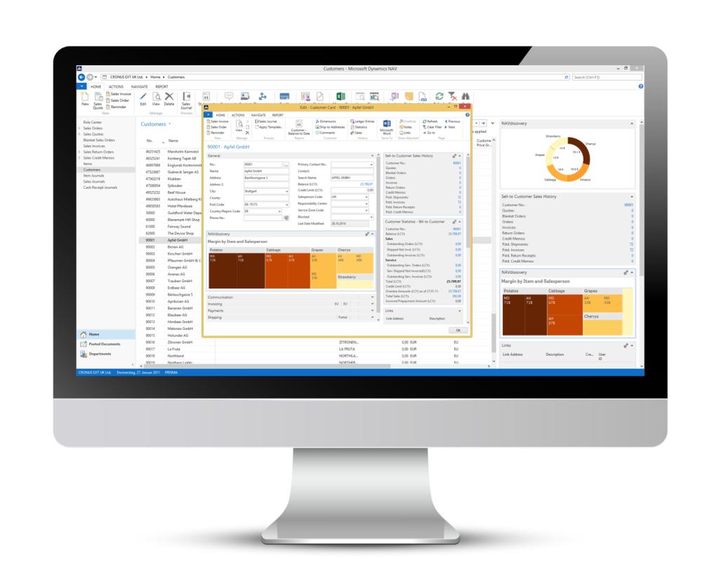 QlikView Microsoft Dynamics NAV Integration Scripting Template