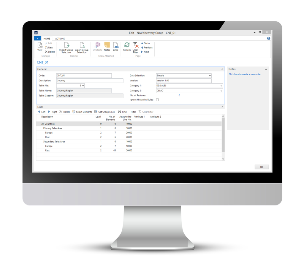 QlikView Dynamics NAV Connector Scripting Template NAVdiscovery