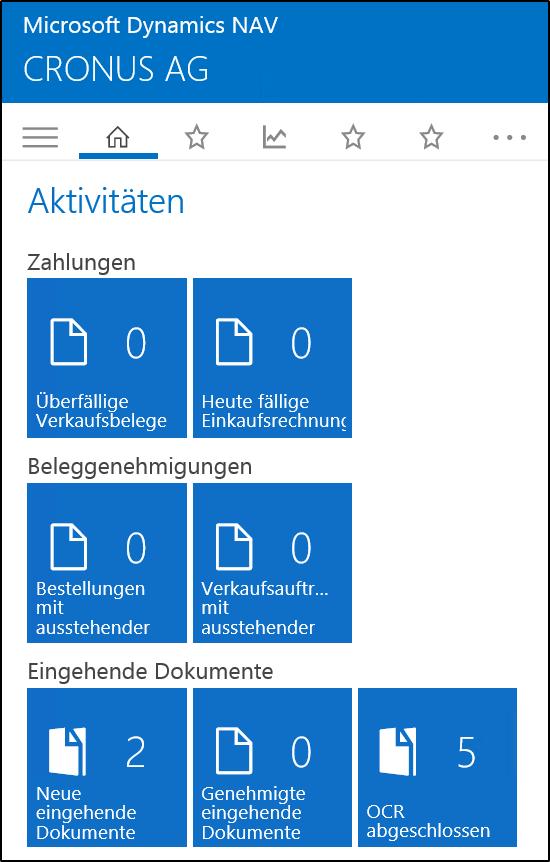 Microsoft Dynamics NAV 2016 Universal App Client