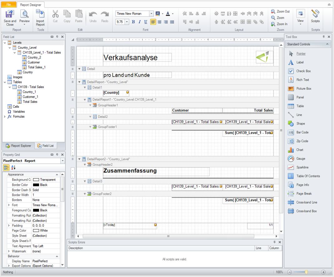 Creating and sharing reports with Qlik NPrinting – ERP & BI