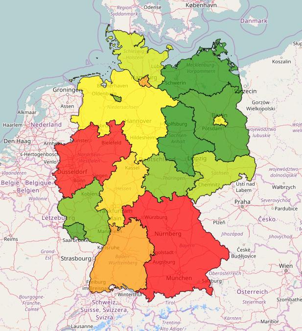 Dynamic map in NPGeoMap
