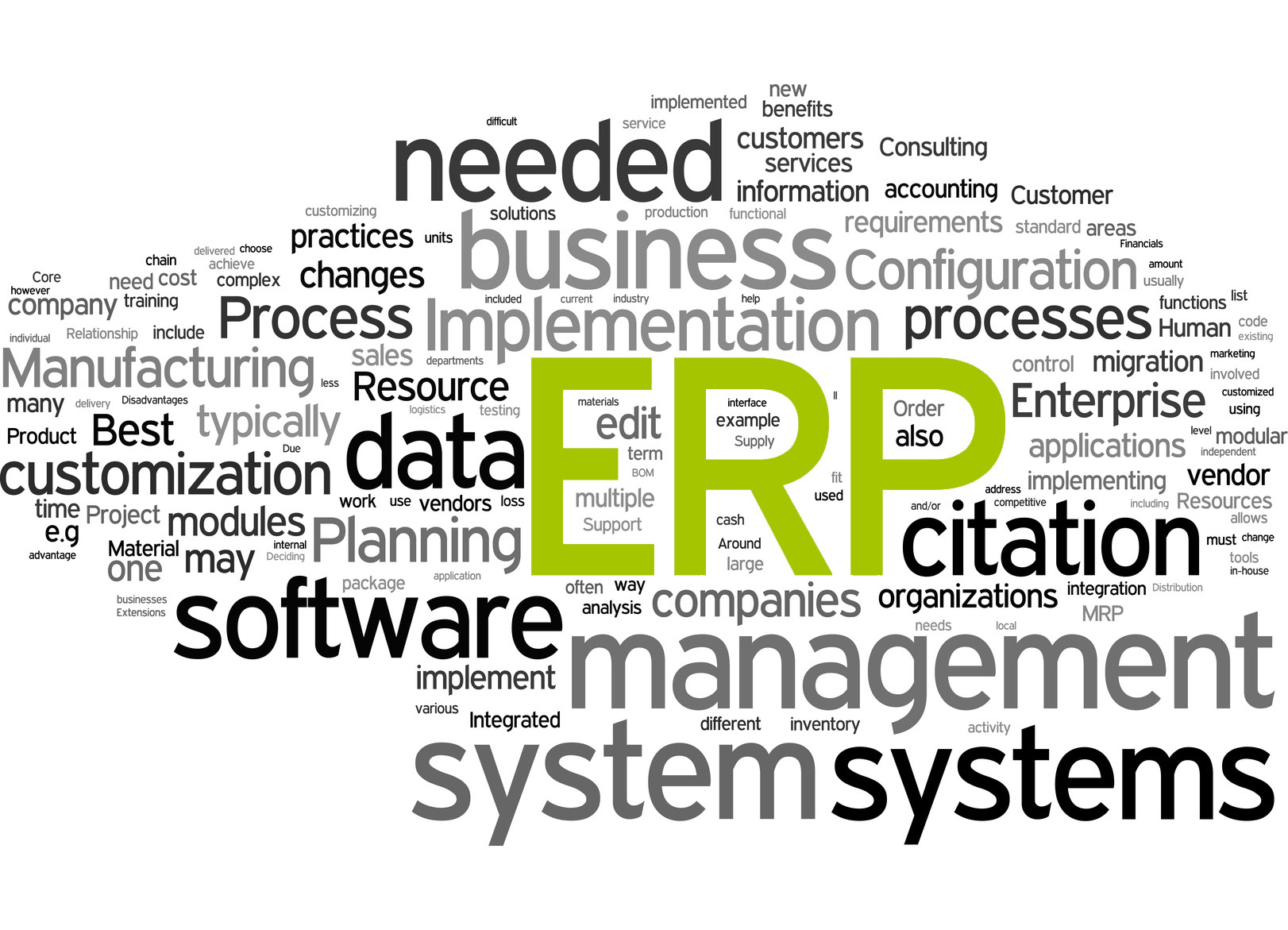 Time for change: When an update of your ERP system is necessary
