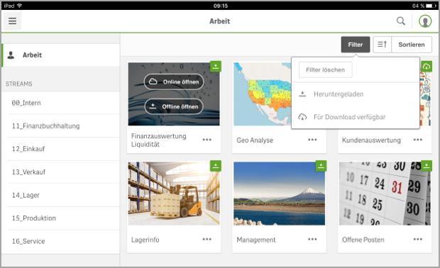 Offline Data Analysis with the Qlik Sense Mobile App